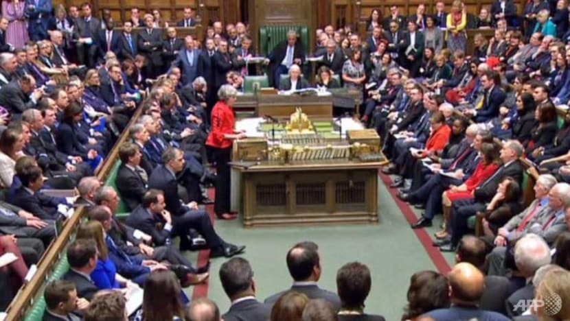 British MPs reject Brexit deal for second time