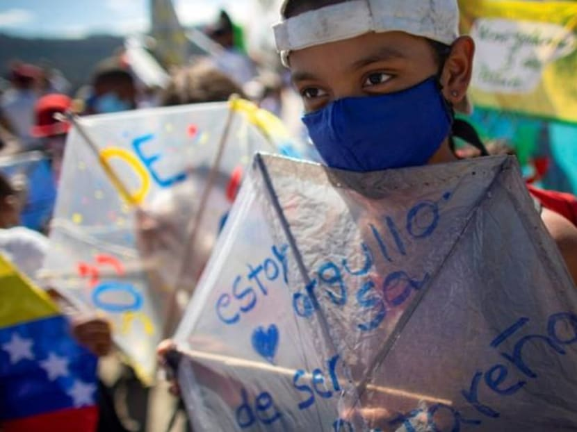 Venezuela's largest impoverished district marks 400th anniversary with kite festival