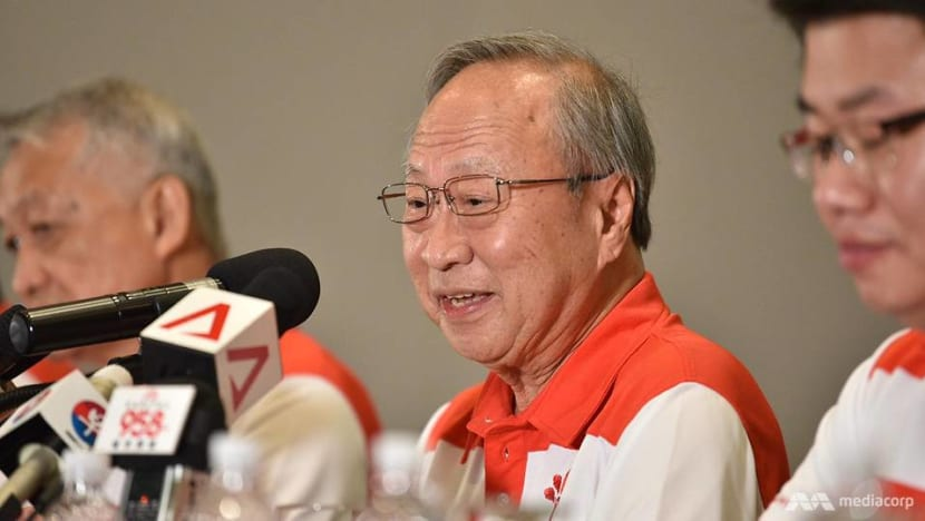Tan Cheng Bock says new party will be 'unifying alternative' for Singapore