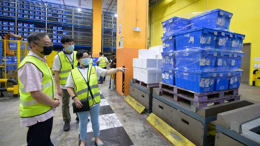 Ample supply of food and essential items in Singapore: Gan Kim Yong on supply concerns arising from Malaysia lockdown
