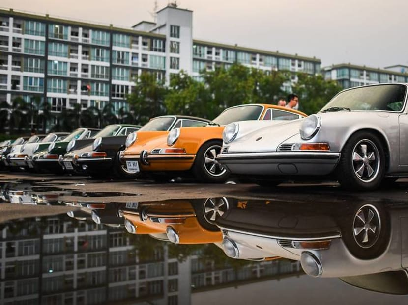 Celebrating 70 years with 250 Porsche cars over one weekend in Bangkok