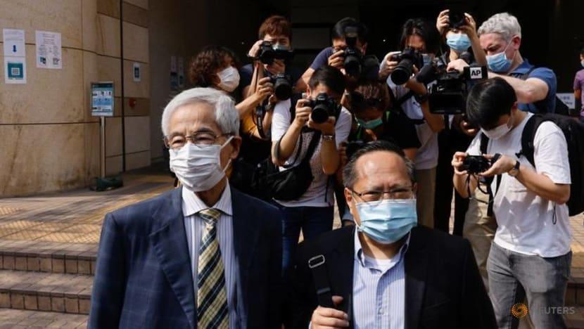 Veteran Hong Kong democrats found guilty in landmark unlawful assembly case