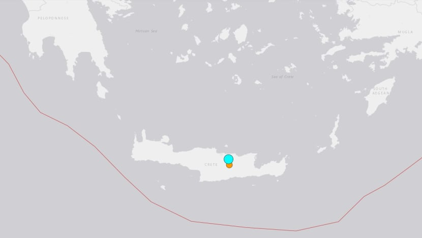 Strong quake rattles island of Crete, some reports of damages