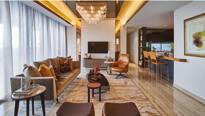 An apartment above ION Orchard: Designed for families, brimming with Italian flair