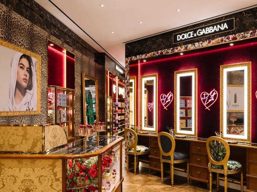 Now open at ION Orchard: Dolce & Gabbana's first beauty store in Singapore