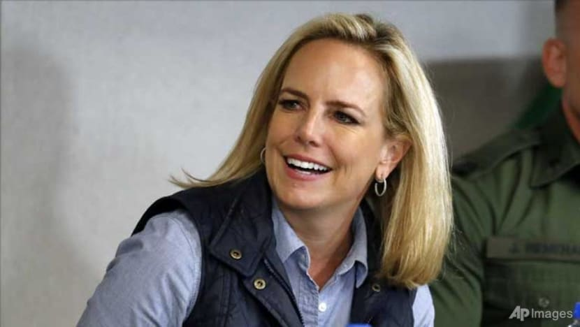 US Homeland Security chief Nielsen leaving her position: Trump