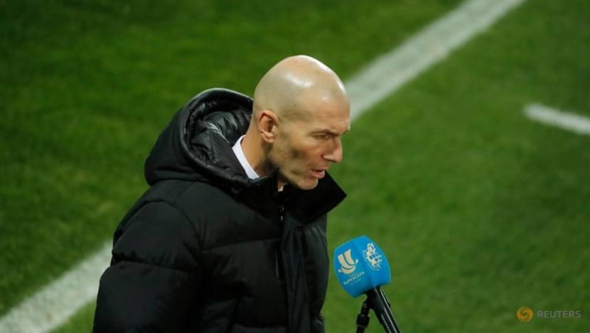 Football: Don't blame me for fierce Real squad competition, says Zidane