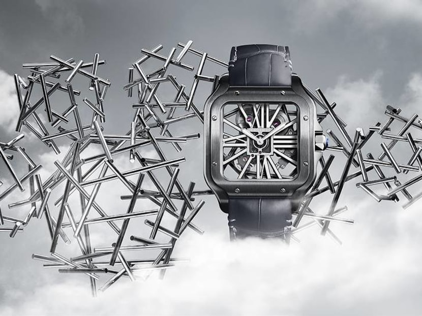 A new lease of life for a century-old watchmaking icon, the Cartier Santos
