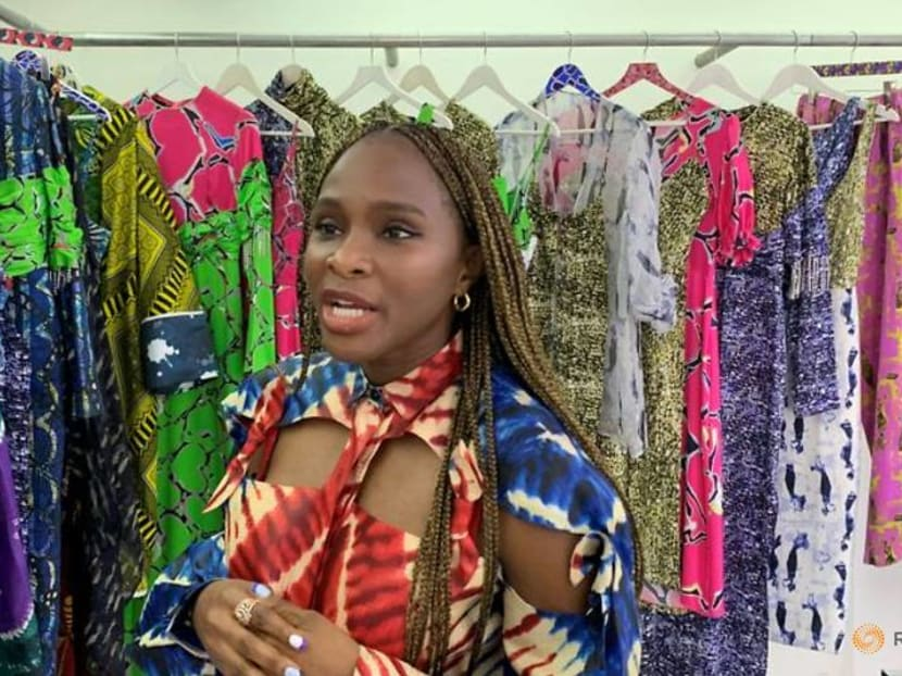 With traditional fabrics, Nigerian designers fashion a new aesthetic