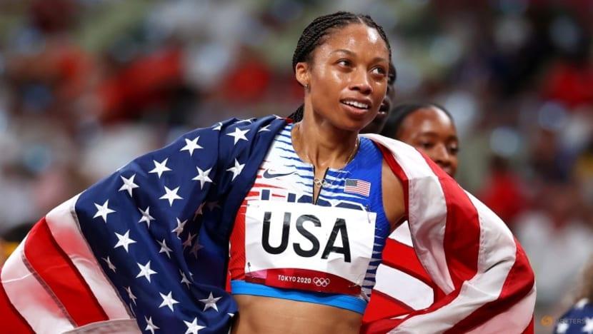 Athletics: Eleven medals for Felix as stellar US team take 4x400m glory