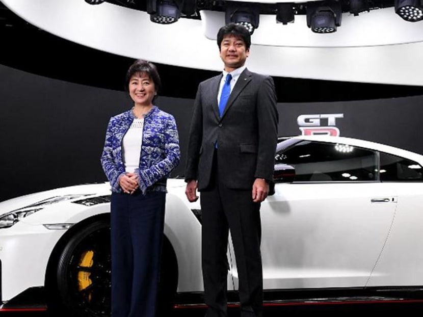 'Many thought women should simply decide a car's colour': Nissan's top female exec