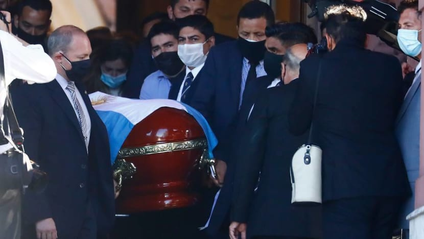 Argentines bid final farewell to Maradona as national mourning begins