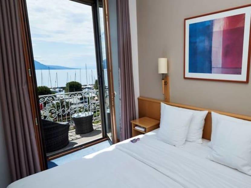 Head for the hills: Virus clampdowns crush Swiss city hotels