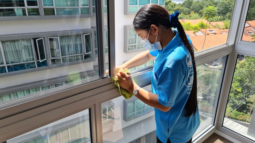 Demand for part-time home cleaning services spikes amid COVID-19 pandemic