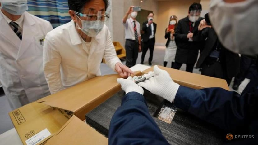 Japan to start inoculation drive Wednesday amid shortage of special syringes
