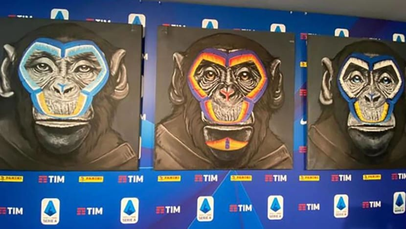 Football: Serie A 'sorry' for monkeys in anti-racism campaign