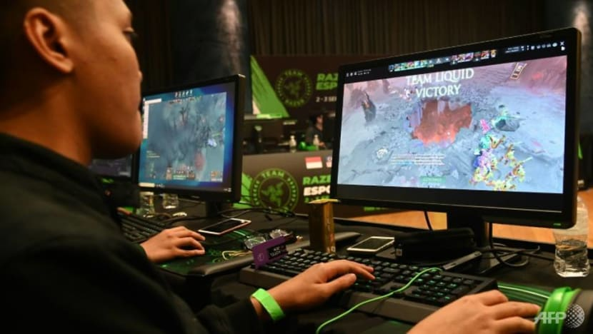 Swapping textbooks for joysticks to represent Singapore in e-sports