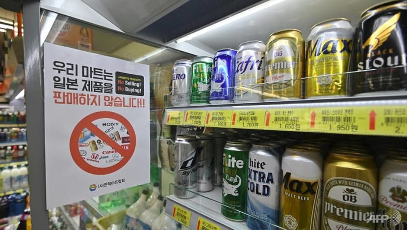 Japan beer exports to South Korea down 99.9% over boycott