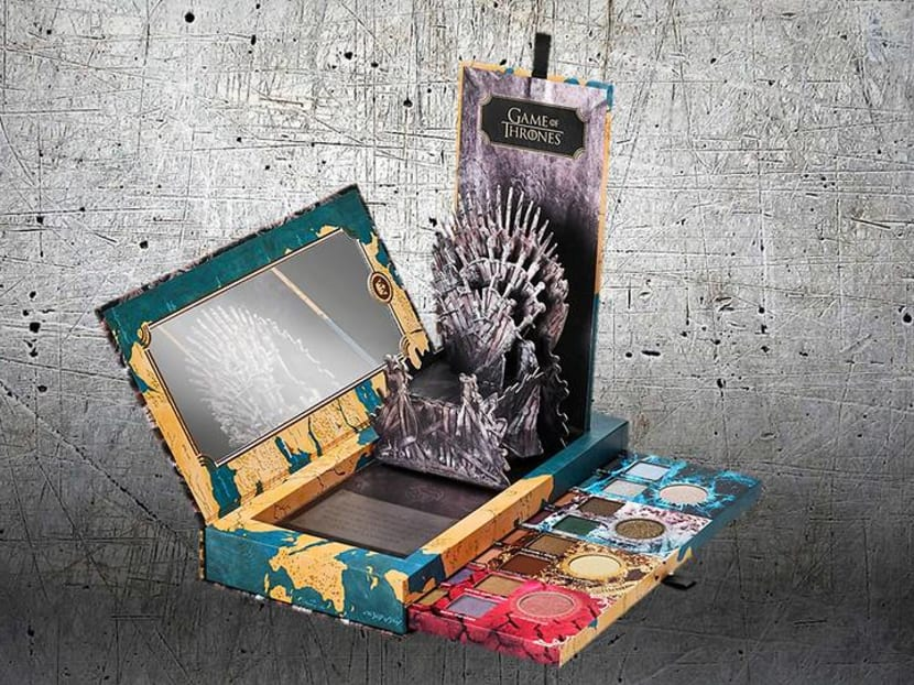 Iron Throne beauty: Game Of Thrones make-up by Urban Decay is coming
