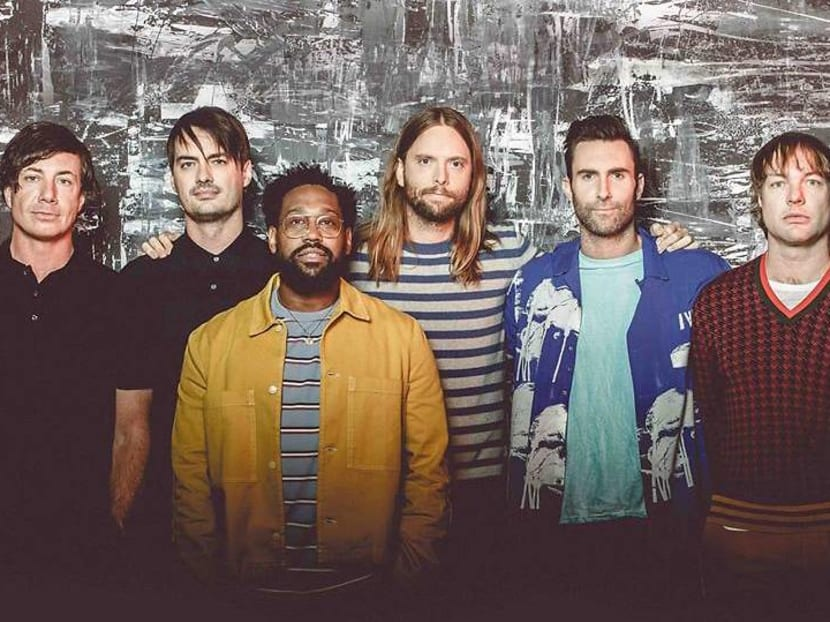 Maroon 5 to perform in Singapore on Mar 7 next year