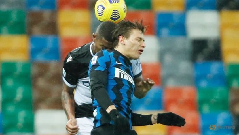 Football: Conte sees red as Inter Milan are held to Udinese stalemate