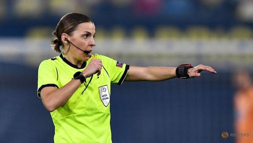 Football: Frappart to become first female official at men's European Championship