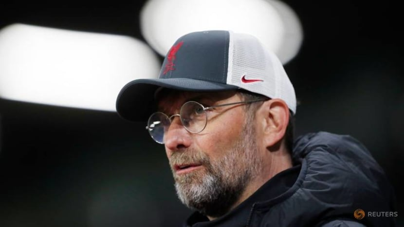 Soccer-Klopp says Liverpool must become 'angry' again to rediscover form