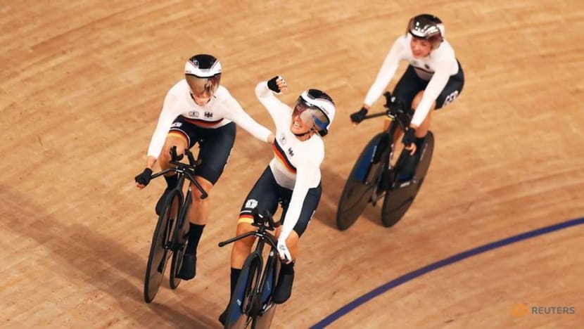 Cycling: Germany dethrone Britain to win women's team pursuit