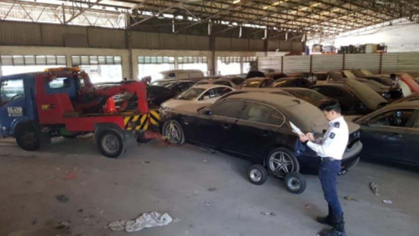 LTA seizes 120 deregistered vehicles in sting operation