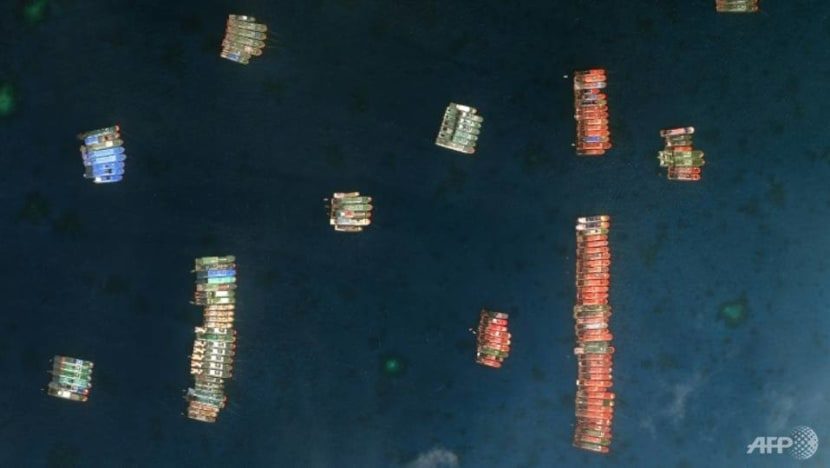 Philippines turns up heat on China over boats massing in South China Sea