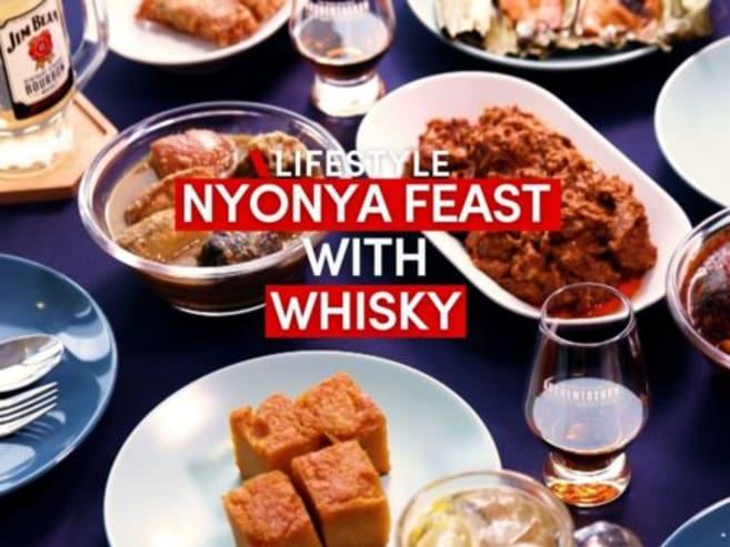 Boozy tok panjang: Peranakan food and whisky pairing | CNA Lifestyle