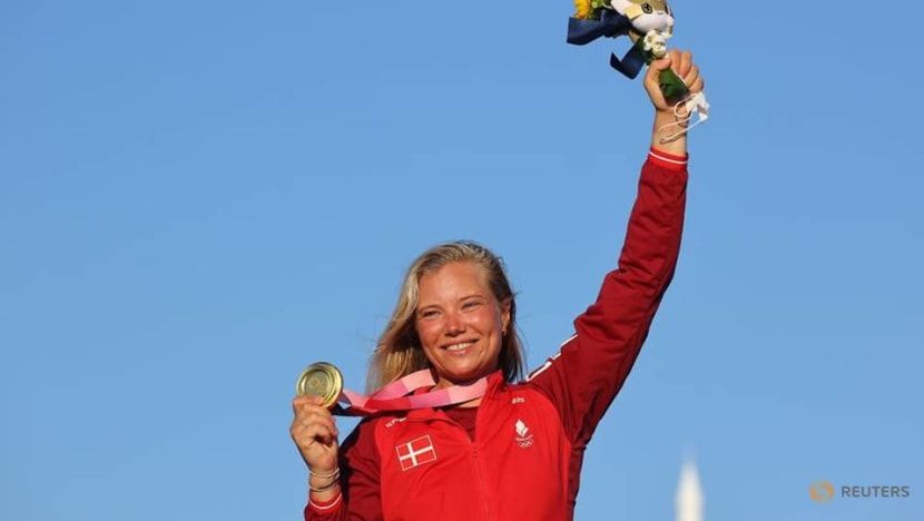 Olympics-Sailing-Team helps Rindom rebound to win Laser sailing gold