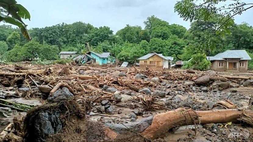 More than 100 dead in Indonesia, Timor-Leste floods, dozens missing