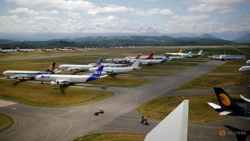 Airlines face headache over 'use-by' date on some jet parts as COVID-19 grounds fleets