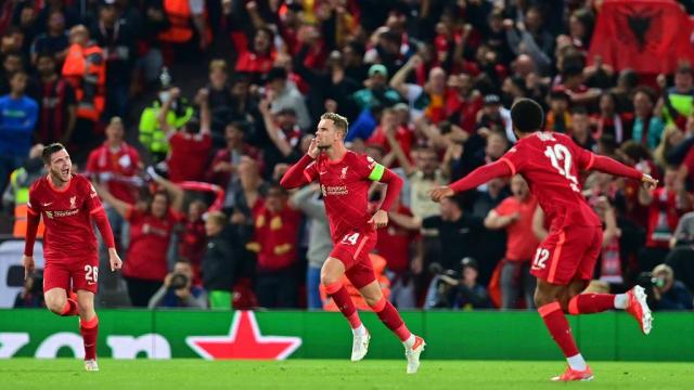 欧冠:利物浦险胜体育米兰 曼市大胜莱比锡