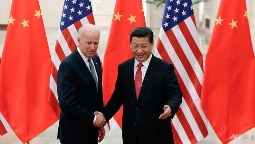 China will not surpass US as global leader on his watch, says Biden