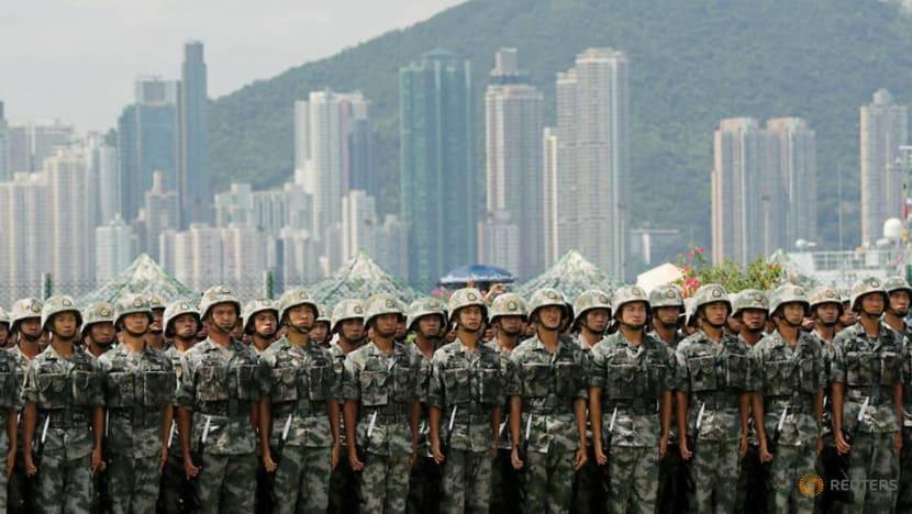 China's PLA signals it will keep Hong Kong-based troops in barracks