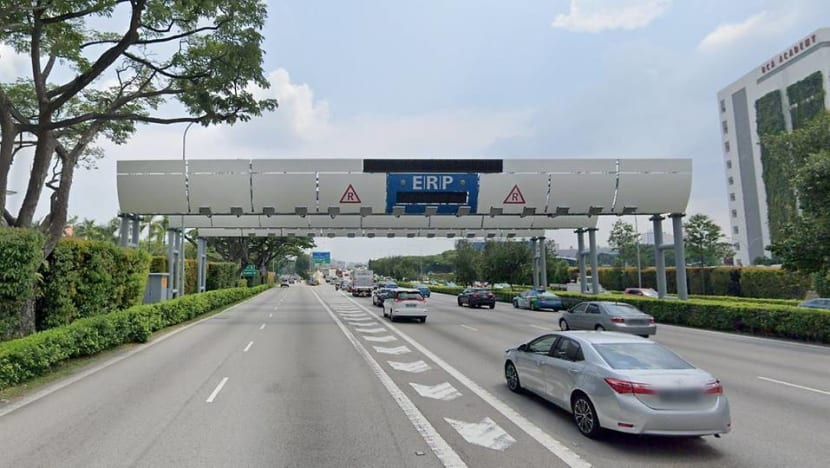 ERP charges to rise at 6 CTE gantries during peak periods