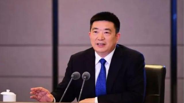 中国湖北武汉市市长周先旺卸任