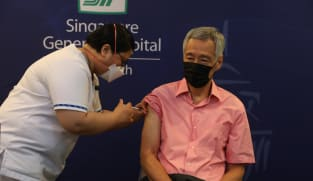 PM Lee receives COVID-19 vaccine booster shot