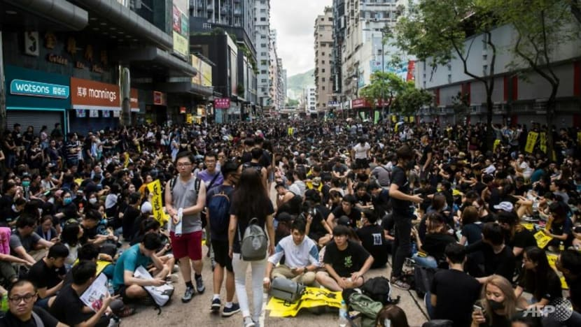 More Hong Kong companies say business impacted by mass protests