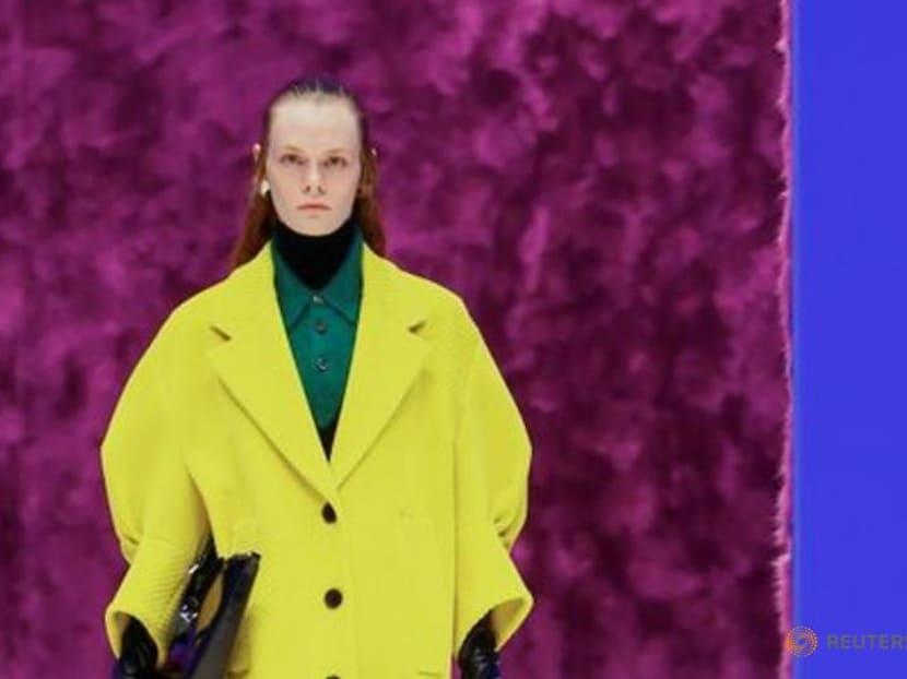 Italian fashion house Prada reworks winter classics at Milan Fashion Week