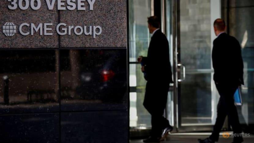 Exchange operator CME's quarterly profit slumps 35per cent