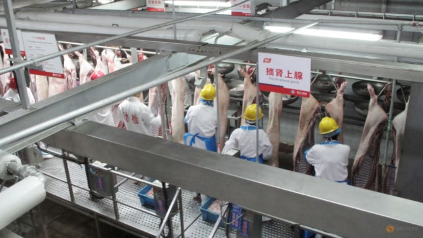 China's WH Group reports weaker first half on rising labour, grain costs