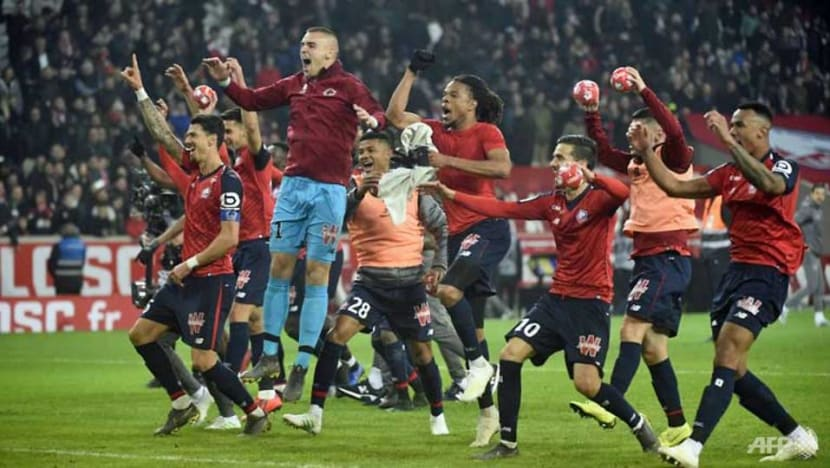 Football: PSG title party delayed again after historic thumping at Lille
