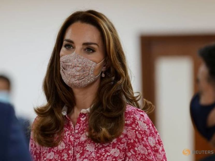 UK's duchess Kate toasts new scout appointment with marshmallows