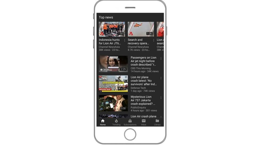 YouTube launches breaking news and top news features in Singapore