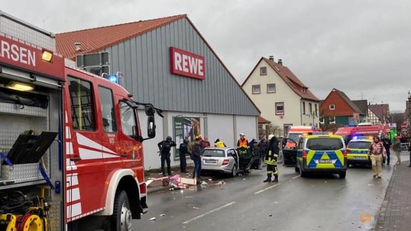 Several dozen injured as car rams carnival procession in Germany