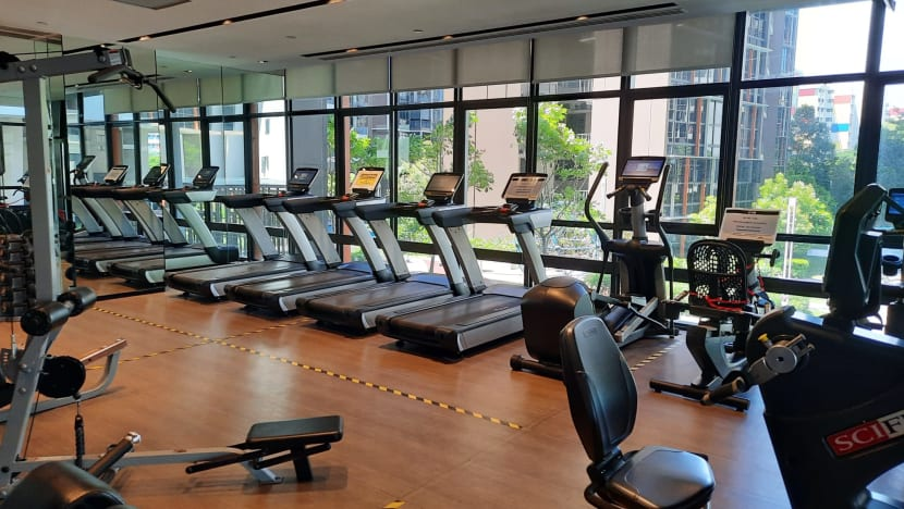 Some condominiums limiting unvaccinated residents' access to gym facilities