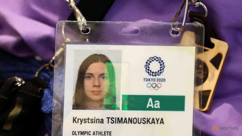 Olympics-Reaction to athlete's refusal to return to Belarus